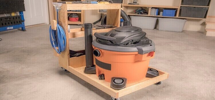 woodworking shop vac maintenance and storage
